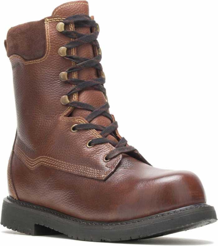 HYTEST 04055 Brown Electrical Hazard, Composite Toe, Internal Met-Guard Men's 10 Inch Boot