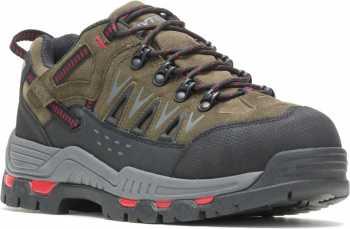 HYTEST 11192 Nickel Men's, Steel Toe, EH, Internal Met Guard, Low Hiker