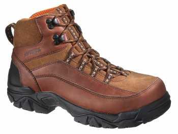 HyTest 12009 Brown Electrical Hazard, Stee Toe, Waterproof Men's Hiker