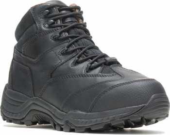 HYTEST 12200 Black Electrical Hazard, Composite Toe, Internal Met-Guard, Non-Metallic Mid-Cut Unisex Hiker