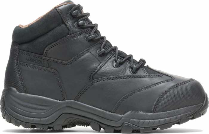 HYTEST 12200 Black Electrical Hazard, Composite Toe, Internal Met-Guard, Non-Metallic Mid-Cut Unisex Hiker