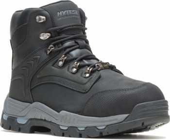 HYTEST 13721 Men's Black, Steel Toe, EH, Internal Met Guard Hiker