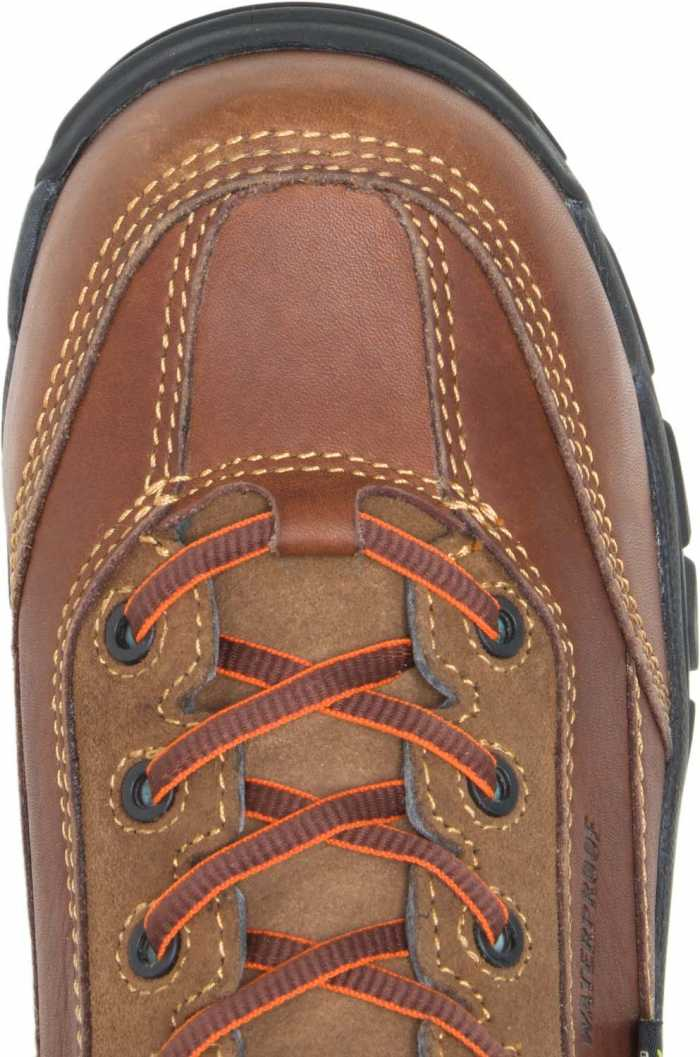 HYTEST 14261 Brown Electrical Hazard, Composite Toe, Poron XRD Met-Guard, Waterproof, Non-Metallic Men's 8 Inch Boot