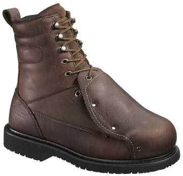 HyTest 14291 Men's, Brown, Steel Toe, EH, External Met, 8 Inch Boot