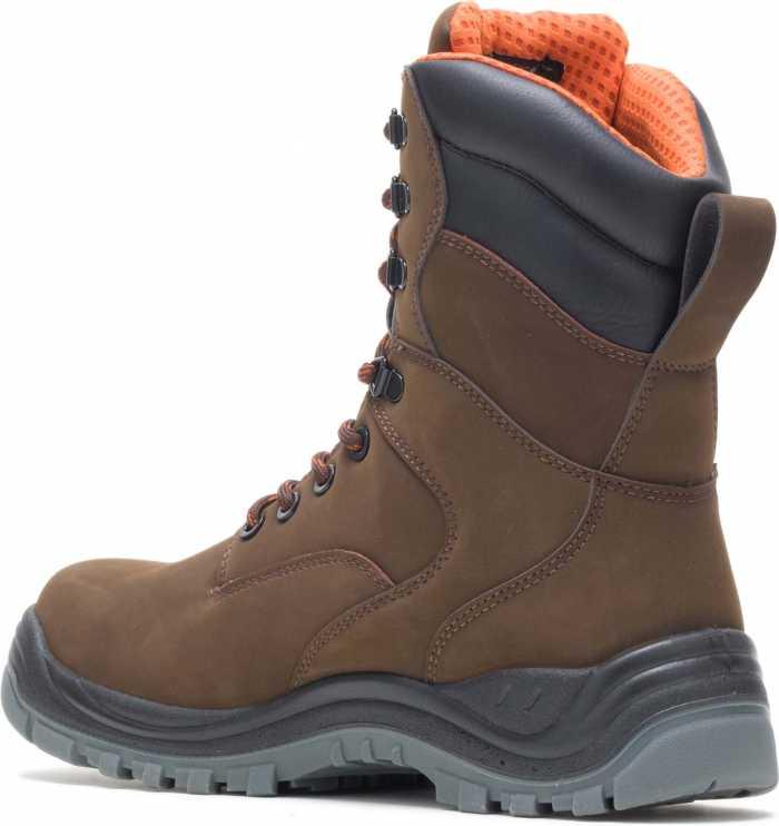 HYTEST 14781 Unisex, Brown, Steel Toe, EH, Waterproof, 8 Inch Boot