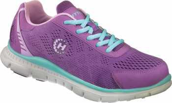 HYTEST 17114 Women's Purple/Blue, Steel Toe, EH Runner