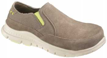HYTEST 17301 Women's Canvas Color, Steel Toe, EH, Casual Slip On