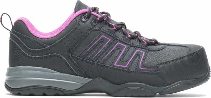 HYTEST 17320 Women's Black, Comp Toe, SD, Low Athletic