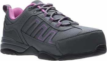 HYTEST 17322 Women's Grey, Comp Toe, SD, Low Athletic