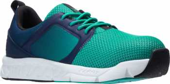HYTEST 17402 Alpha XERGY, Women's, Teal Fade, Nano Toe, SD, Casual Oxford