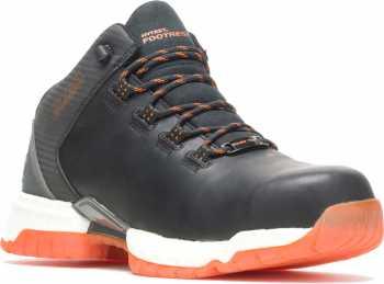HYTEST 21100 FootRests 2.0 XERGY, Men's, Black/Orange, Nano Toe, EH Trainer
