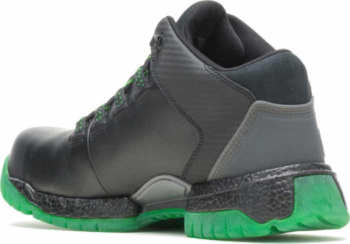 HYTEST FootRests 2.0 21109 XERGY, Men's, Black/Green, Nano Toe, EH Trainer