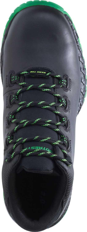 HYTEST 21109 FootRests 2.0 XERGY, Men's, Black/Green, Nano Toe, EH Trainer