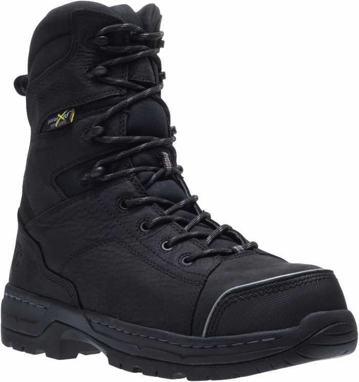 HYTEST 24210 Men's Black, Nano Safety Toe, EH, Internal Met, 8 Inch Boot