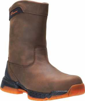HYTEST FootRests 2.0 25241 XERGY, Men's, Brown/Orange, Nano Toe, EH, Wellington