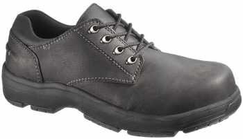 HYTEST 30410 Black Static Dissipating, Composite Toe Men's Oxford