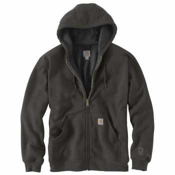 Carhartt Peat Thermal-Lined Hooded Zip-Front Sweatshirt