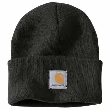 Carhartt Black Acrylic Watch Hat for Men