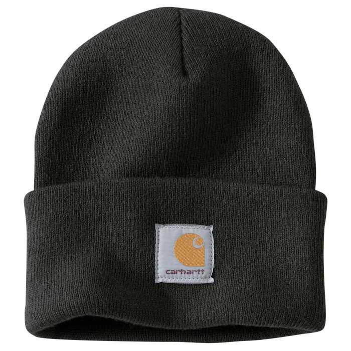 Carhartt Black Acrylic Watch Hat for Men