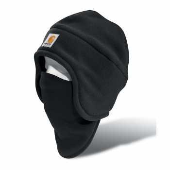 Carhartt Black Fleece 2-In-1 Headwear for Men