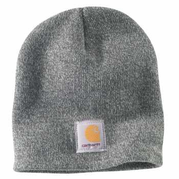 Carhartt Heather Gray/Coal Heather Acrylic Knit Hat for Men