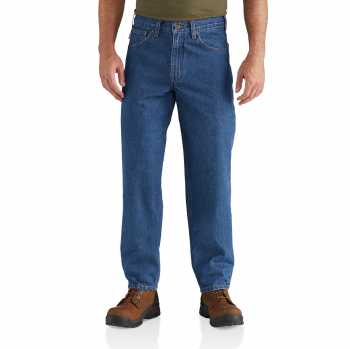 Carhartt Darkstone Relaxed Fit Tapered Leg Jean for Men
