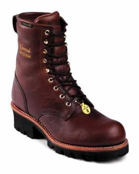 Chippewa CH73060 Briar Steel Toe, Electrical Hazard, Insulated, Waterproof Men's 8 Inch Logger
