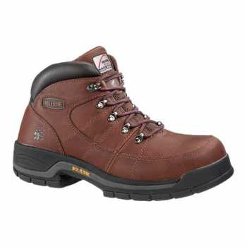 WOLVERINE 4671 WOMEN'S BROWN HIKER - ALUMINUM ALLOY TOE EH