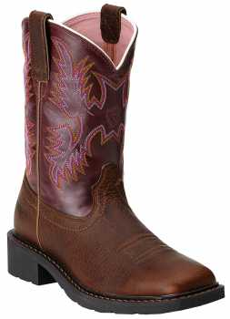 Ariat AR10009494 Krista, Dark Tan, Steel Toe, EH, Pull On Boot