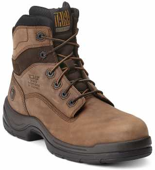 Ariat AR10012946 FlexPro, Men's, Brown, Comp Toe, SD, 6 Inch Boot