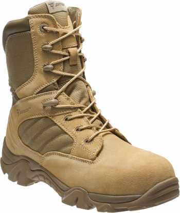 Bates BA2276 Desert Tan Composite Toe, Electrical Hazard, Side Zip, Men's GX-8 ,8 Inch Boot