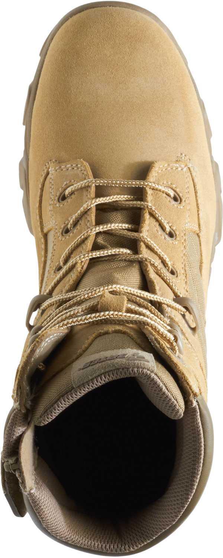 Bates BA2276 Desert Tan Composite Toe, Electrical Hazard, Side Zip, Men's GX-8 ,8 Inch Boot