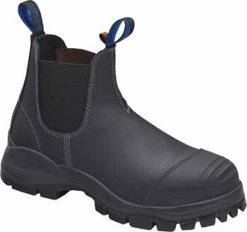 Blundstone BL990 Men's, Black, Steel Toe, EH, Chelsea Boot