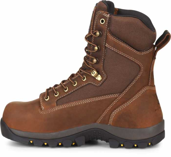 Carolina CA4515 Forrest, Men's, Brown, Comp Toe, EH, WP/Insulated, 8 Inch Boot