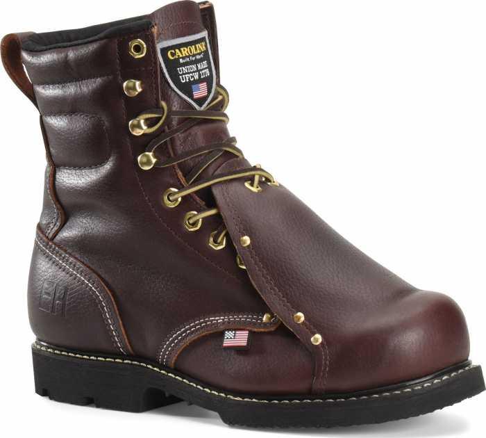 Carolina CA505USA Briar Pitstop, USA Made, Steel Toe, Electrical Hazard, Met Guard Unisex 8 Inch Boot