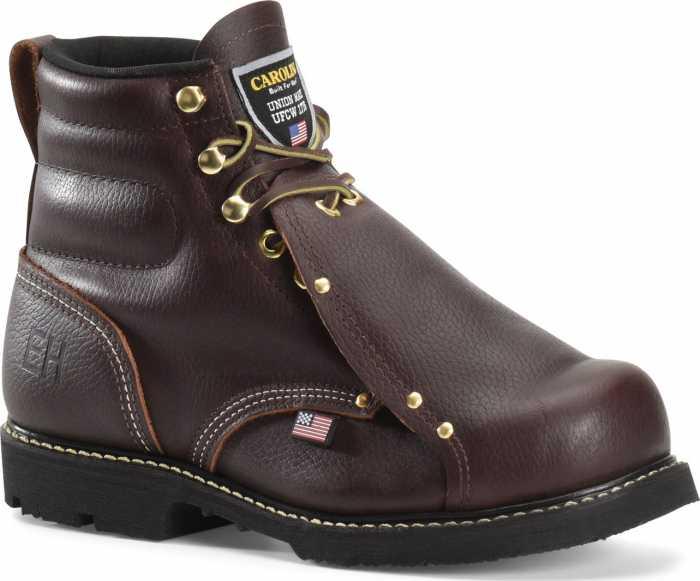 Carolina CA508USA Briar Pitstop, USA Made, Steel Toe, Electrical Hazard, Met Guard Unisex 6 Inch Boot