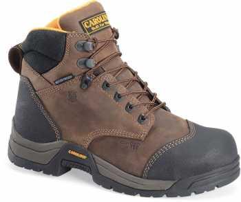 Carolina CA5522 Bruno Lo, Men's, Brown, Comp Toe, SD, WP, 6 Inch Boot