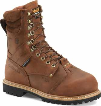 Carolina CA7921 Hardrock, Men's, Brown, Comp Toe, EH, Mt, WP/Insulated Logger