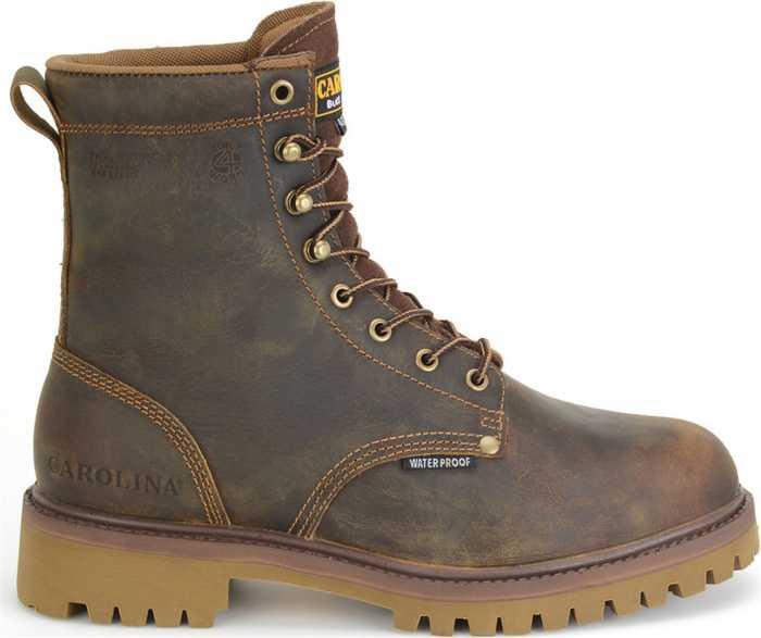 Carolina CA8588 Marlboro Hi, Men's, Brown, Steel Toe, EH, WP/Insulated, 8 Inch Boot
