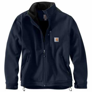 Carhartt Navy Crowley Jacket for Men (Plus Sizes)