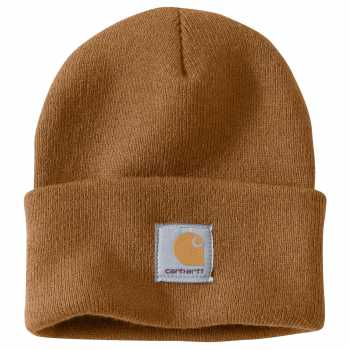 Carhartt Brown Acrylic Watch Hat for Men