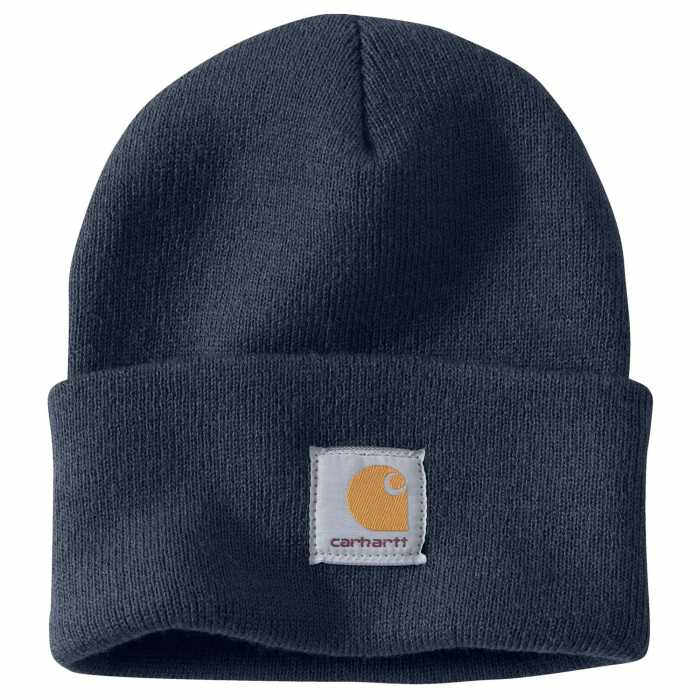 Carhartt Navy Acrylic Watch Hat for Men
