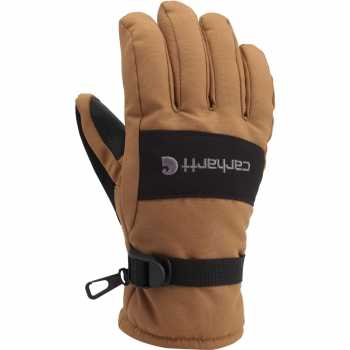Carhartt Brown/Barley Waterproof Insulated Glove for Men