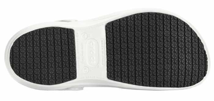 Crocs Bistro Unisex White Slip Resistant Soft Toe Clog