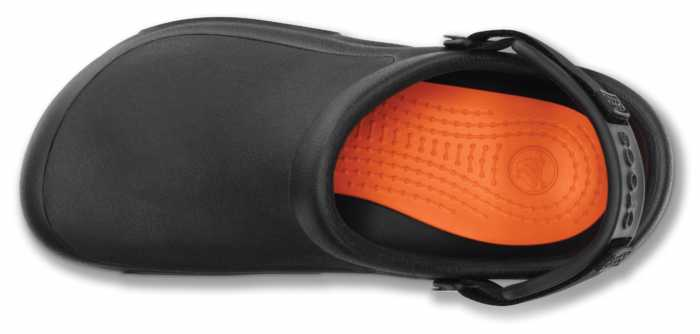 Crocs CRPRO15010BLK Bistro Pro, Unisex, Black, Slip Resistant Clog