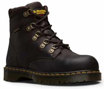 Dr. Martens DM13733201 Men's Brown Steel Toe, SD, Slip Resistant Hiker