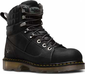Dr. Martens 22655001 Camber, Men's, Black, Alloy Toe, EH, 6 Inch Boot