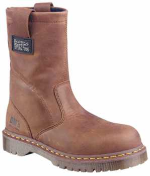 Dr. Martens DM2295C2365 Men's, Brown, Steel Toe, EH, Pull On Boot