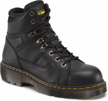 Dr. Martens DMR12721001 Ironbridge, Men's, Black, Steel Toe, EH, Lace To Toe Boot