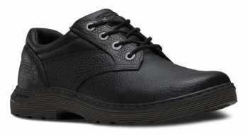 Dr. Martens DMR16947001 Prestige Men's, Black, Soft Toe, Slip Resistant Oxford
